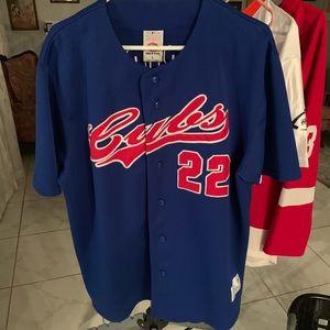 Other - Cubs button down jersey shirt
